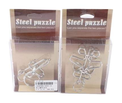 Логическая игра Junfa Toys Steel Puzzle 1845-12