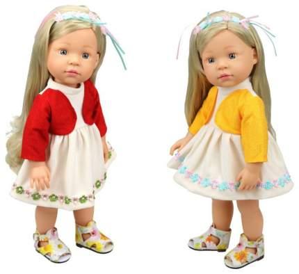 Платье для куклы с кофточкой 2 вида в ассортименте