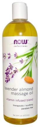 Масло для тела Now Lavender Almond Massage Oil 473 мл