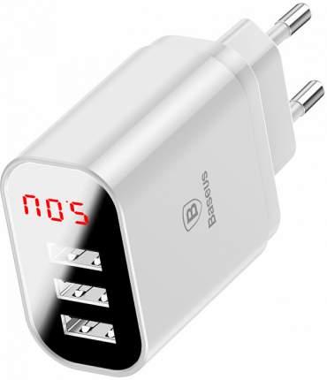 Сетевое зарядное устройство Baseus Mirror Lake 3 USB 3,4A Ehite