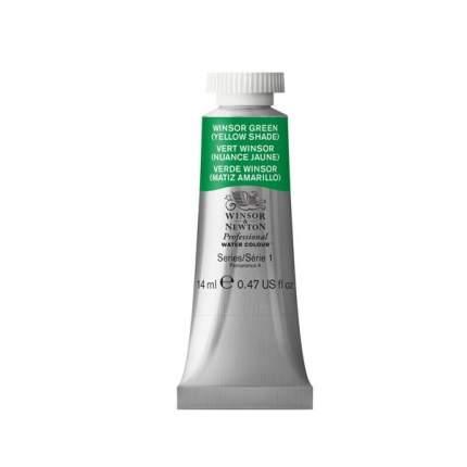 Акварель Winsor&Newton Professional винзор зеленый теплый 14 мл
