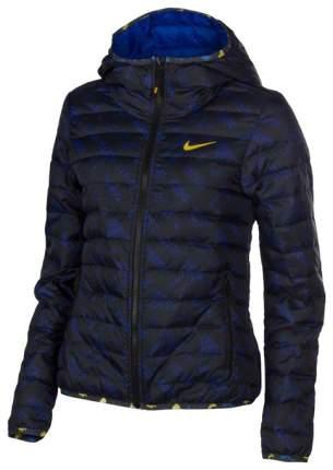 Куртка Nike Victory 550 Hood Jacket-AOP, black/blue, S INT