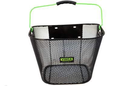 Корзина велосипедная Vinca Sport P 01 зеленая