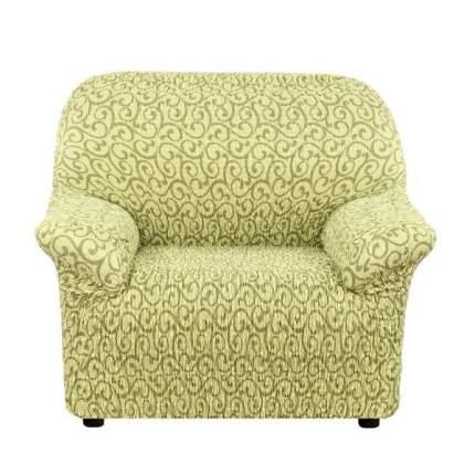 Чехол на кресло Еврочехол Тела Безарро зеленый