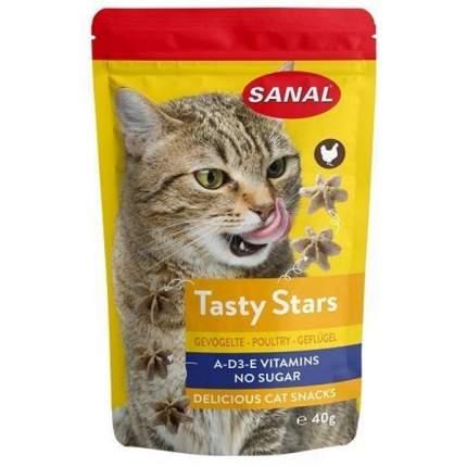 Лакомство для кошек Sanal птица 0.04кг