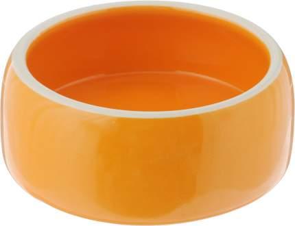 Одинарная миска для кошек и собак Nobby, керамика, оранжевый, 0.25 л