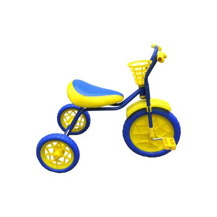 Трехколесный велосипед Woodlines Зубренок Синий