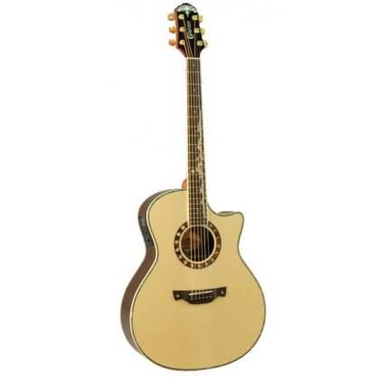 Электроакустическая гитара шестиструнная CRAFTER ML-Rose Plus Кейс