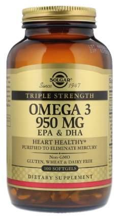 Omega-3 Solgar Epa&Dha Triple Strength 100 капс.