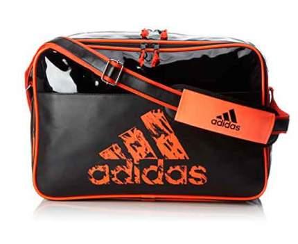 Спортивная сумка Adidas Leisure Messenger S черно-оранжевая