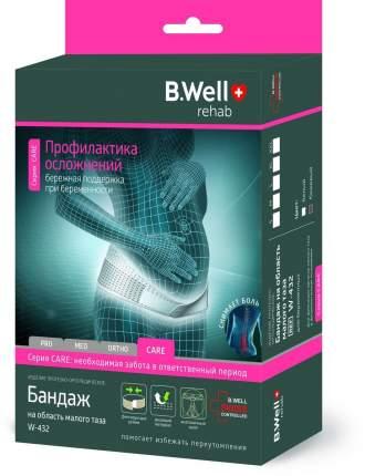Бандаж для беременных B.Well W-432 с системой поддержки спины с 2 ребрами жесткости
