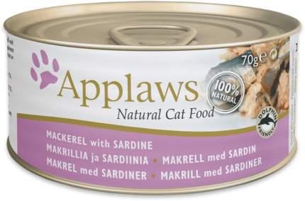 Консервы для кошек Applaws со скумбрией и сардинками, 70г