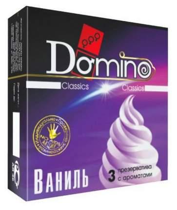 Презервативы Domino ароматизированные ваниль 3 шт.