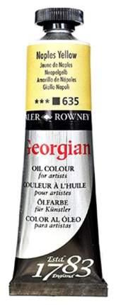 Масляная краска Daler Rowney Georgian неаполитанский желтый 75 мл