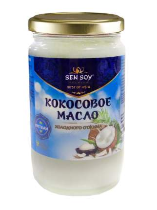 Масло кокосовое Sen Soy холодного отжима 220 мл