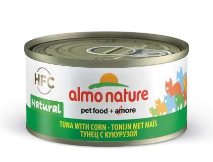 Консервы для кошек Almo Nature HFC Natural, овощи, тунец, 70г