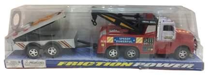 Инерционная машинка Эвакуатор с прицепом