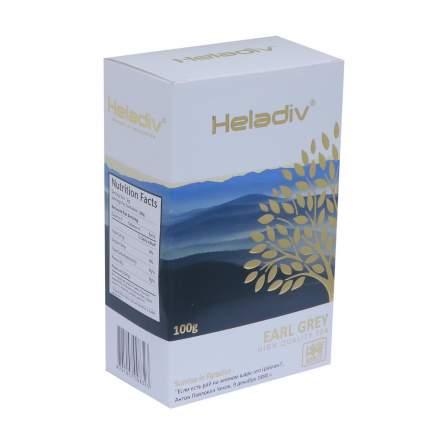 Чай листовой черный Heladiv earl grey 100 г
