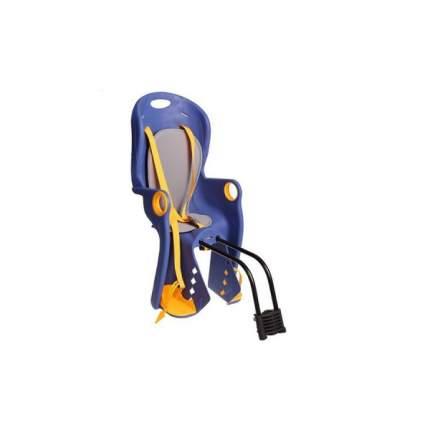 Велокресло детское BQ-5А (быстросъёмное крепление за подседельную трубу рамы), Синий