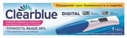Тест на беременность Clearblue Digital цифровой с индикатором срока