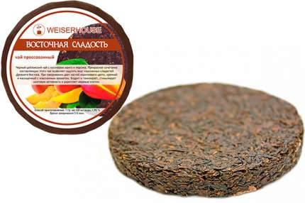 Чай черный с манго и персиком Восточная сладость плитка 50 г