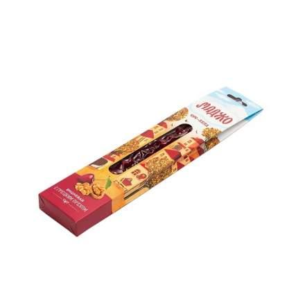 Чурчхела Маджо с грецким орехом вишневая вакуум 80 г