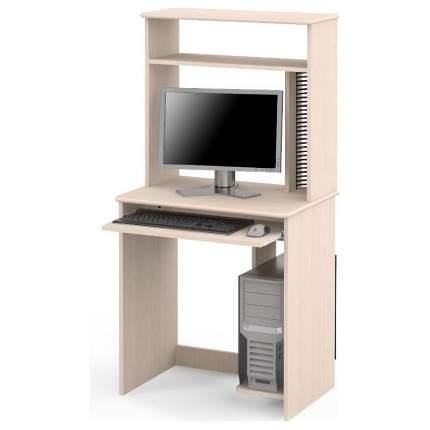Компьютерный стол Мебель Смоленск СК-02 MAS_SK-02-DM 70x50x143,2, дуб молочный