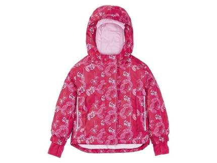 Куртка для девочки горнолыжная Lupilu розовая р.98-104