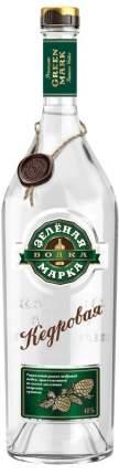 Водка Зеленая Марка Кедровая 0.7 л