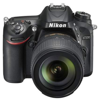 Фотоаппарат цифровой зеркальный Nikon D7200 18-105 VR Kit Black