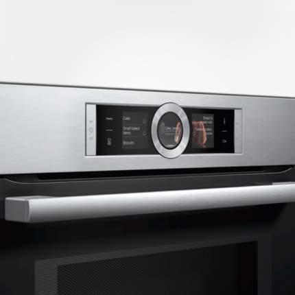 Встраиваемый электрический духовой шкаф Bosch CMG6764S1 Silver