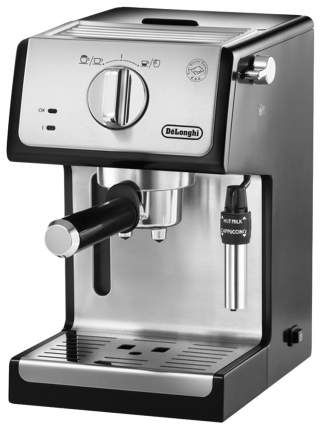 Рожковая кофеварка DeLonghi ECP 35.31 Silver/Black