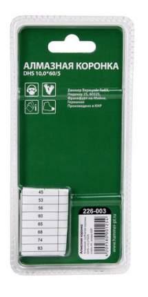 Алмазная коронка по керамограниту/стеклу Hammer Flex 226-003 (58966)