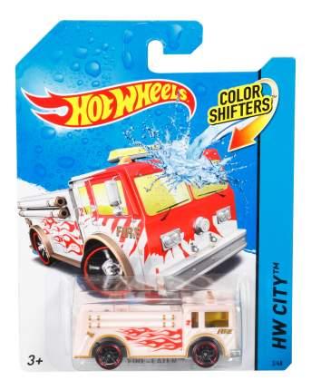 Пожарная машина Hot Wheels меняющая цвет BHR15 BHR21