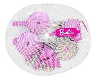 Набор кухонной и чайной посудки Barbie, 21 предмет в сетке