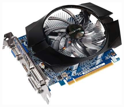 Видеокарта GIGABYTE GeForce GTX 1050 Ti (GV-N740D5OC-1GI)