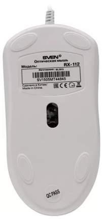 Проводная мышка Sven RX-112 White