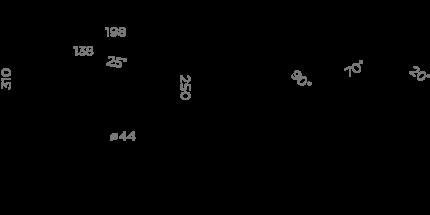 Смеситель для кухонной мойки OMOIKIRI Antique times Tottori AC 4994008 античная латунь