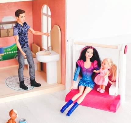 Дом кукольный Paremo Муза розовый PD315-01