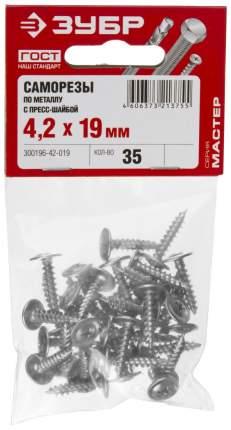 Саморезы Зубр 300196-42-019 PH2, 4,2х19 мм, 35шт