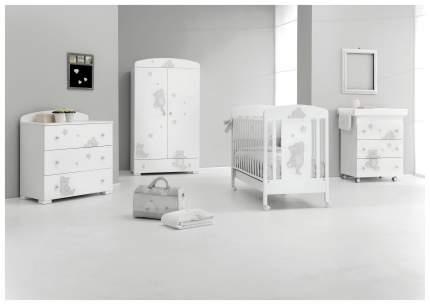 Комод детский Erbesi Cucu Baby Bath Белый