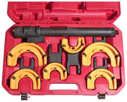 Набор для стяжки пружин JTC JTC-4274 с пневматическим приводом усиленный 3 пары захватов