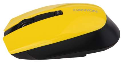Беспроводная мышь CANYON CNS-CMSW5Y Yellow/Black