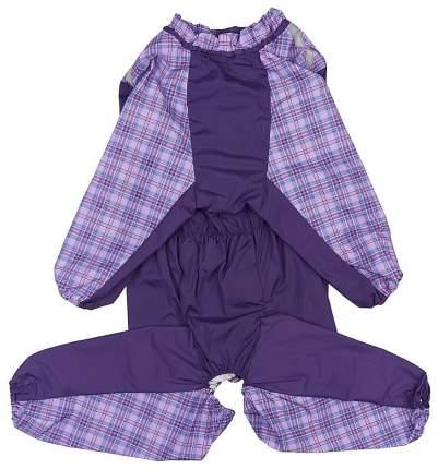 Комбинезон для собак ТУЗИК размер 4XL женский, фиолетовый, длина спины 51 см