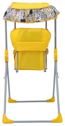 Качалка детская Фея Малыш с тентом желтый 0004289-4