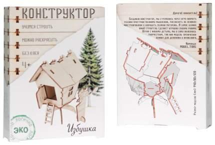 """Конструктор деревянный Model Toys """"Избушка"""" Dom 6"""