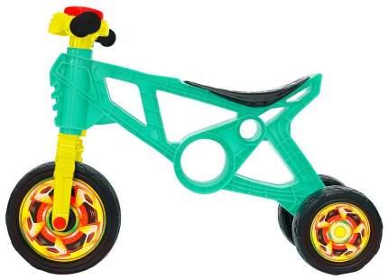 Каталка-беговел R-Toys Самоделкин с клаксоном бирюзовая ОР171