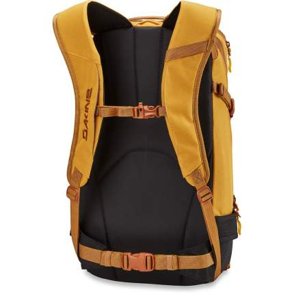 Рюкзак для лыж и сноуборда Dakine Heli Pro, mineral yellow, 20 л