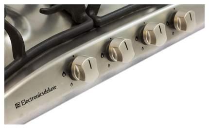 Встраиваемая варочная панель газовая Electronicsdeluxe 5840,00 ГМВ-000 ЧР Silver