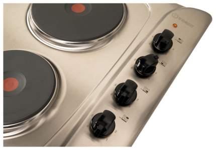 Встраиваемая варочная панель электрическая Indesit PIM 604 IX Silver